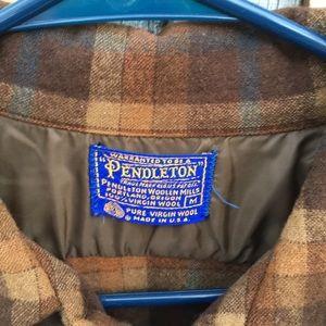 Pendleton Shirts - Vintage Pendleton Wool Flannel Sz M